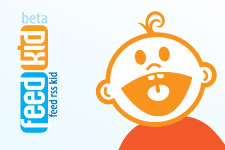 Логотип для портала коллектора RSS - Feedkid